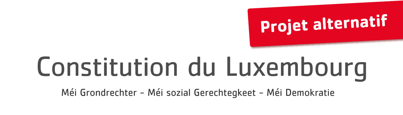 Constitution du Luxembourg